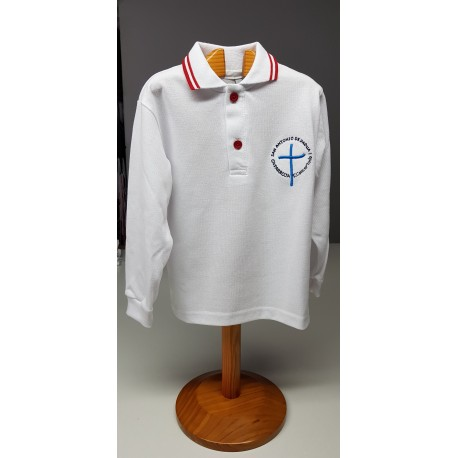 Polo Manga Larga Uniforme
